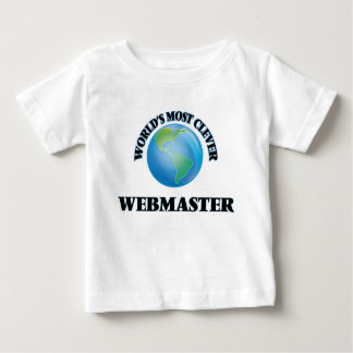 World's Most Clever Webmaster Tee Shirts