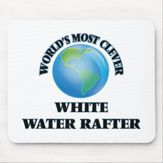 World's Most Clever White Water Rafter Mousepad