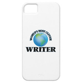 World's Most Clever Writer iPhone 5 Cases