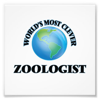 World's Most Clever Zoologist Photographic Print