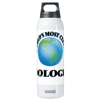 World's Most Clever Zoologist 16 Oz Insulated SIGG Thermos Water Bottle