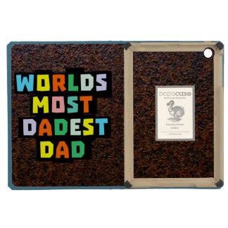 Worlds Most Dadest Dad iPad Mini Covers