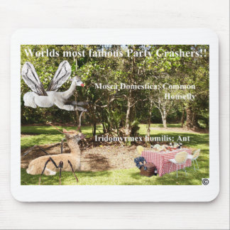 World's most famous party crashers!!! mouse pad