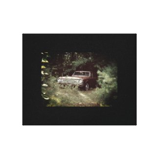 World's Most Haunted Car - The Goldeneagle - 1964 Canvas Print