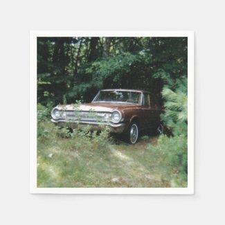 World's Most Haunted Car - The Goldeneagle - 1964 Napkin