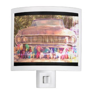 World's Most Haunted Car - The Goldeneagle - 1964 Night Light
