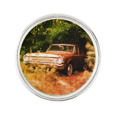 Beach Themed World's Most Haunted Car - The Goldeneagle - 1964 Pin