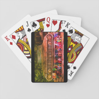 World's Most Haunted Car - The Goldeneagle - 1964 Playing Cards