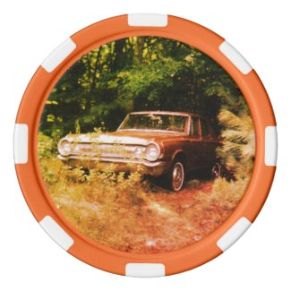 World's Most Haunted Car - The Goldeneagle - 1964 Poker Chip Set