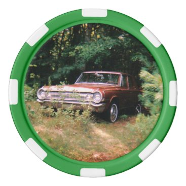 Beach Themed World's Most Haunted Car - The Goldeneagle - 1964 Poker Chips Set