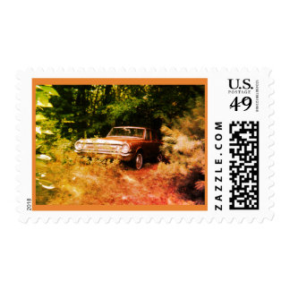 World's Most Haunted Car - The Goldeneagle - 1964 Postage