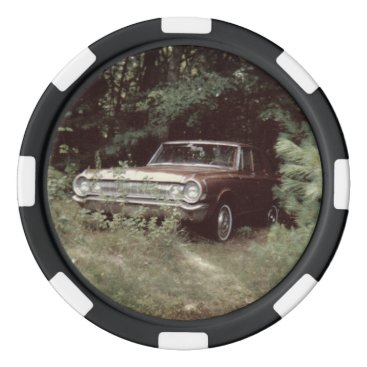 Beach Themed World's Most Haunted Car - The Goldeneagle - 1964 Set Of Poker Chips