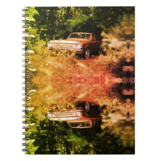 World's Most Haunted Car - The Goldeneagle - 1964 Spiral Notebook