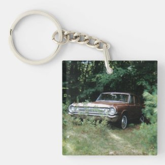 Worlds Most Haunted Car - The Goldeneagle Keychain