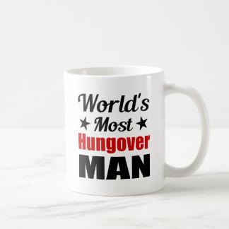 World's Most Hungover Man Funny Drinking Coffee Mug