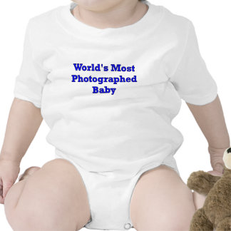 WORLDS MOST PHOTOGRAPHED BABY BOY BODYSUIT
