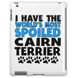 Case-Mate Barely There iPad Case with Cairn Terrier Phone Cases design