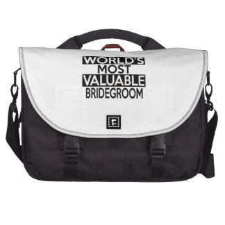 WORLD'S MOST VALUABLE BRIDEGROOM BAG FOR LAPTOP