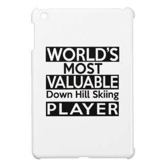 World's Most Valuable Down Hill Skiing Player iPad Mini Cases