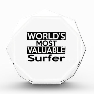 World's Most Valuable Surfer Award