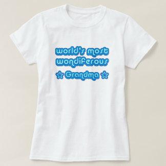 World's Most Wondiferous Grandma T-Shirt