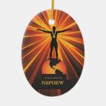 Worlds Nephew Golden Award Ornament