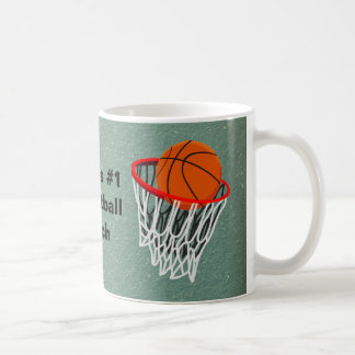 Worlds No 1 Basketball Coach Coffee Mug