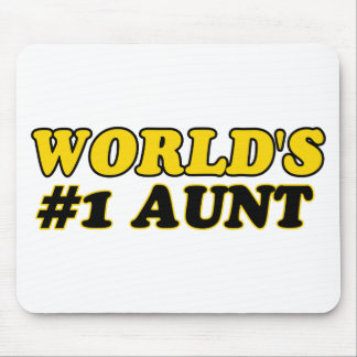 World's number 1 aunt mouse pad