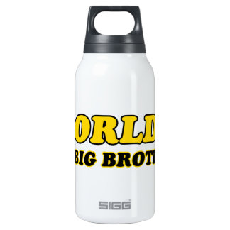World's number 1 big brother insulated water bottle