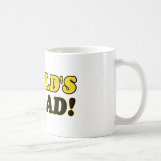 World's number 1  dad coffee mug