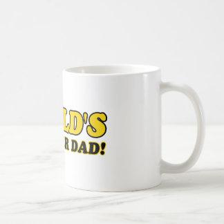 World's number 1 foster dad coffee mug