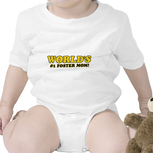 World's number 1 foster mom tshirt