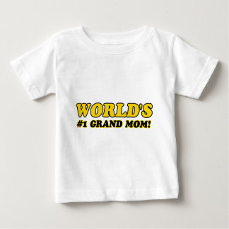 World's number 1 grand mom baby T-Shirt