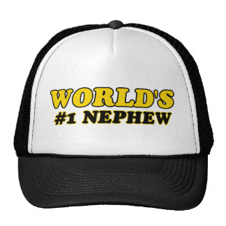 World's number 1 nephew mesh hat