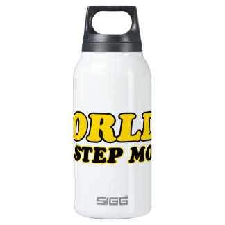 World's number 1 step mom insulated water bottle