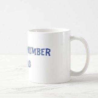World's Number 2 Dad Coffee Mug