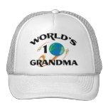 World's Number One Grandma Trucker Hat