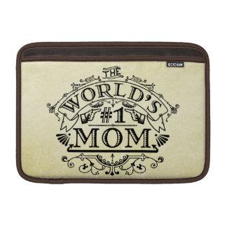 World's Number One Mom Vintage Flourish MacBook Air Sleeve