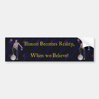 Worlds of Illusion Bumper Sticker