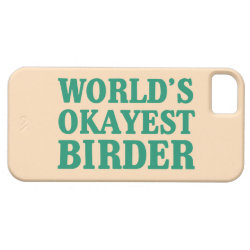 Case-Mate Vibe iPhone 5 Case with World's Okayest Birder design
