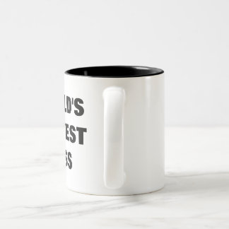 World's Okayest Boss Two-Tone Coffee Mug