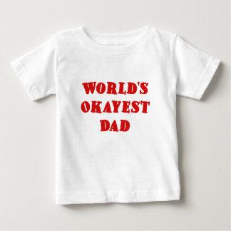 Worlds Okayest Dad Tshirts