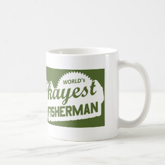 World's Okayest Fisherman Coffee Mug