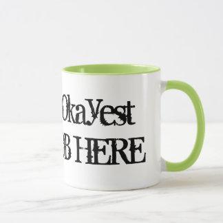 Worlds Okayest ... | Funny job coffee mug humor