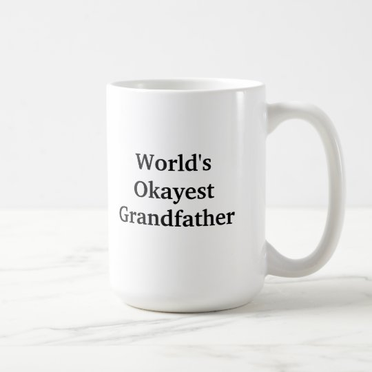 World's Okayest Grandfather mug