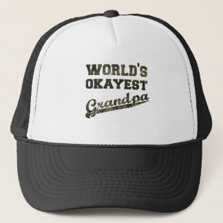 World's Okayest Grandpa 2 Trucker Hat
