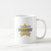 World's Okayest Lawyer ... Joke Classic White Coffee Mug