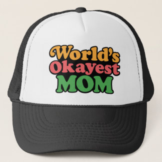 World's Okayest Mom Hat