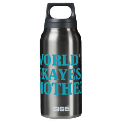 SIGG Thermo Bottle (0.5L) with World's Okayest Mother design