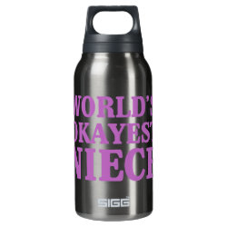 SIGG Thermo Bottle (0.5L) with World's Okayest Niece design